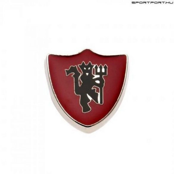 Manchester United kitűző / jelvény / nyakkendőtű (vörös ördögpajzs) eredeti klubtermék!!!
