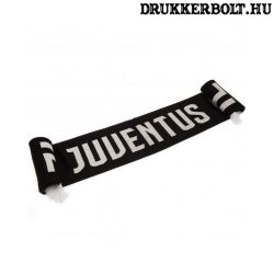 Juventus sál (fekete) - szurkolói sál (hivatalos, liszenszelt klubtermék)