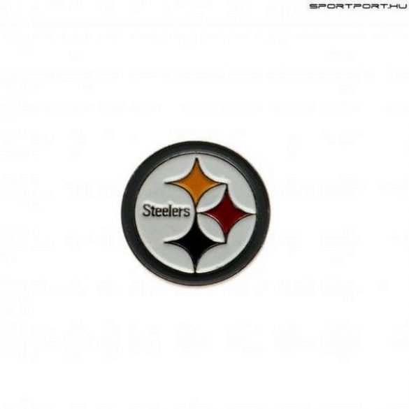 Pittsburgh Steelers kitűző / NFL jelvény - eredeti Steelers nyakkendőtű