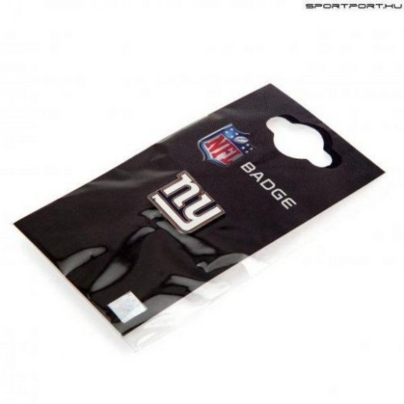 New York Giants kitűző / NFL jelvény - eredeti Giants nyakkendőtű