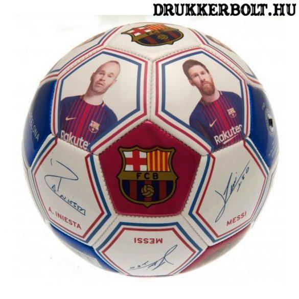 """FCB Barcelona labda """"Photo"""" - normál (5-ös méretű) Barca címeres focilabda"""