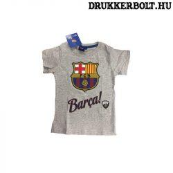Fc Barcelona póló - eredeti, hivatalos klubtermék (szürke)