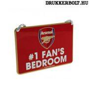 """Arsenal tábla """"elsőszámú szurkoló"""" - """"Arsenal szurkoló szobája"""" tábla"""