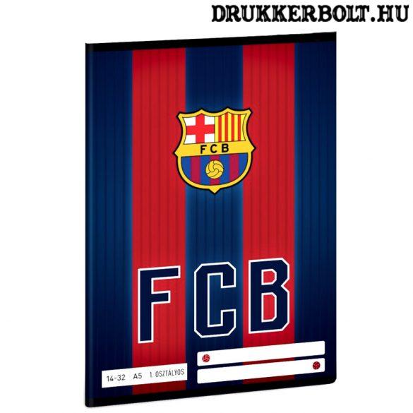 FC Barcelona vonalas füzet A/5 méretben (1. osztályos 1432)