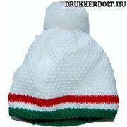 Magyarország bojtos sapka (kötött) - hivatalos szurkolói termék (fehér)