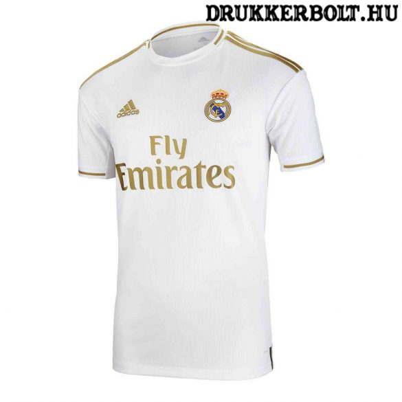 Adidas Real Madrid mez- eredeti, hivatalos klubtermék (Real Madrid hazai mez)