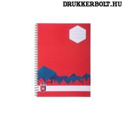Videoton négyzetrácsos füzet (Vidi kockás füzet A/4 méretben) - hivatalos Videoton FC termék
