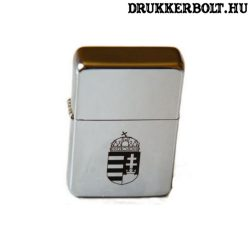 Magyarország öngyújtó - gravírozott címeres magyar öngyújtó (benzines)