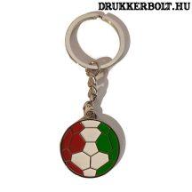 Magyarország szurkolói szív alakú kulcstartó