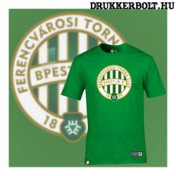 Ferencváros póló - Fradi címeres zöld szurkolói póló (pamut)