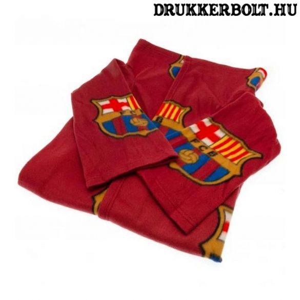 FC Barcelona polár takaró - viselhető Barca takaró