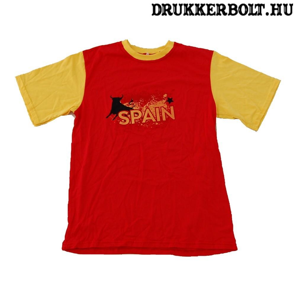 Spanyolország szurkolói póló - Spanyol válogatott szurkolói póló (pamut) 226bfec037