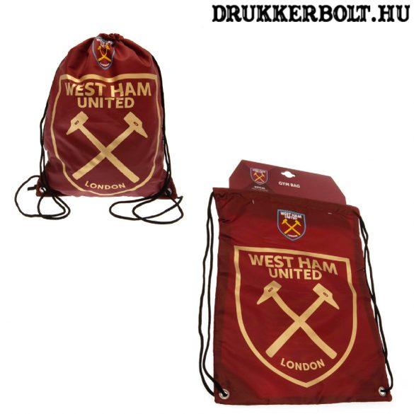 West Ham United tornazsák / zsinórtáska - eredeti, hivatalos klubtermék