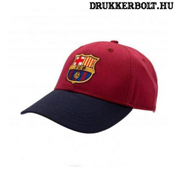 FCB Supporter - Barcelona szurkolói baseball sapka - hivatalos klubtermék