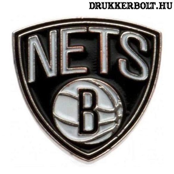 Brooklyn Nets - NBA kitűző (eredeti, hivatalos klubtermék)