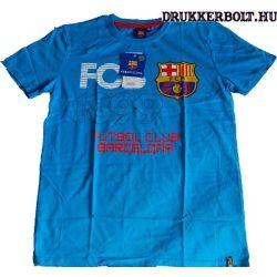Fc Barcelona gyerek póló - eredeti, hivatalos klubtermék (kék)