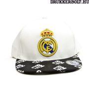 Real Madrid baseball sapka (fekete-fehér) - eredeti, hivatalos Real Madrid Snapback