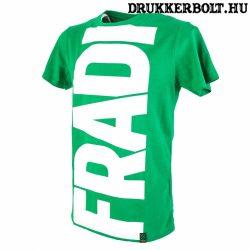 Ferencváros póló - Fradi szurkolói póló (szürke)