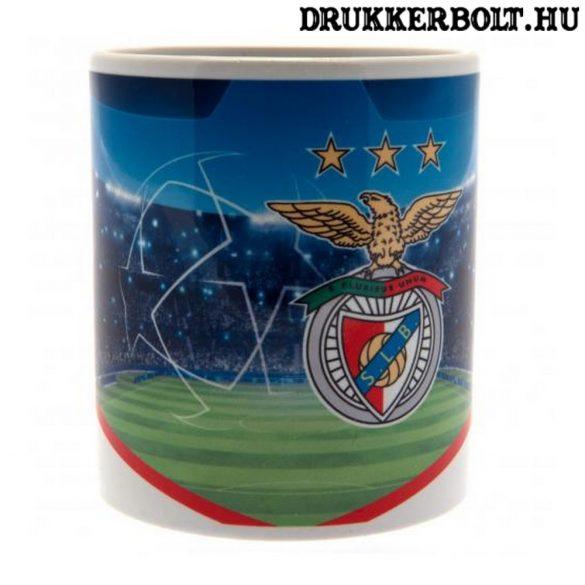 SL Benfica bögre - limitált kiadású Champions League bögre Benfica címerrel