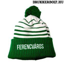 Ferencváros kötött sapka - hivatalos FTC szurkolói termék (Fradi bojtos sapka)