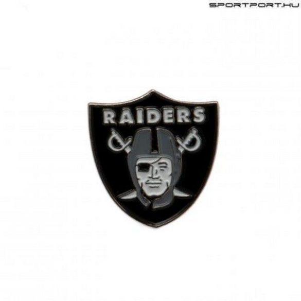 Oakland Raiders kitűző - hivatalos NFL kitűző - eredeti klubtermék!