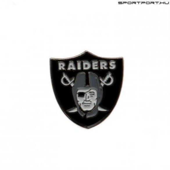 Oakland / Las Vegas Raiders kitűző - hivatalos NFL kitűző - eredeti klubtermék!