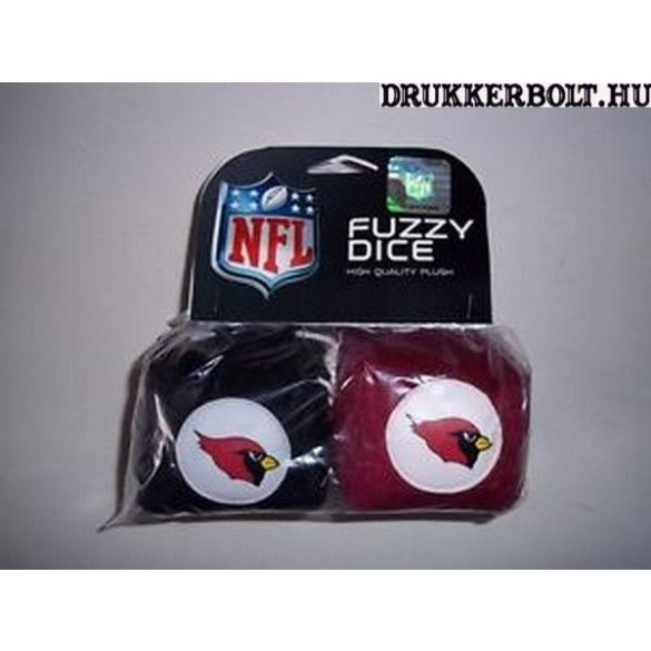Arizona Cardinals plüss dobókocka - eredeti NFL termék