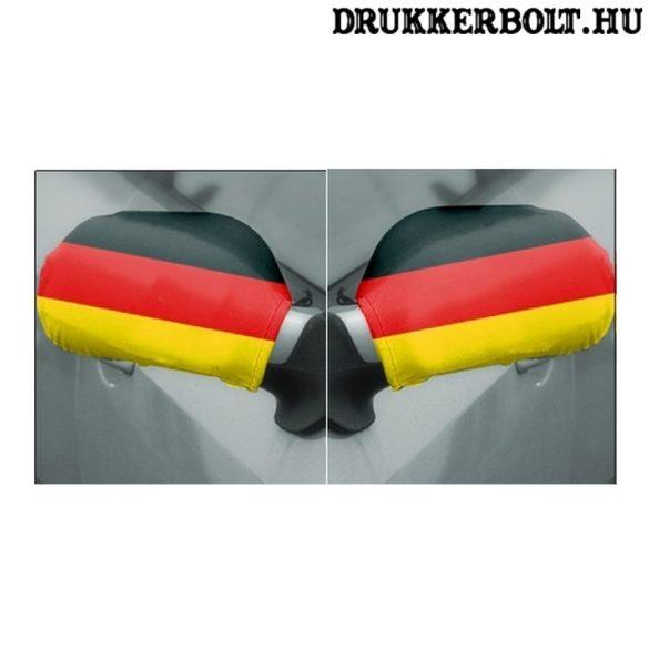 Németország tükörzászló / német visszapillantó tükör huzat (2 db)