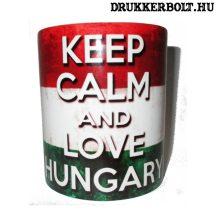 Magyarország bögre (feliratos)