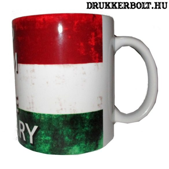 Magyarország bögre (Keep Calm and love Hungary feliratos)