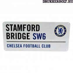 Chelsea Fc utcatábla - eredeti, hivatalos klubtermék