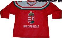 Magyar válogatott hivatalos jégkorong / hokimez (piros)