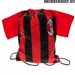 AC Milan mez alakú tornazsák / zsinórtáska - eredeti, hivatalos klubtermék