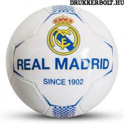 Real Madrid labda kék-fehér normál (5-ös méretű) Real Madrid címeres focilabda
