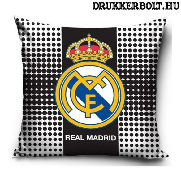Real Madrid kispárna huzat (40x40 cm) - eredeti, hivatalos ajándéktárgy!