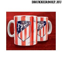 Atletico Madrid bögre - gravírozott bögre címerrel
