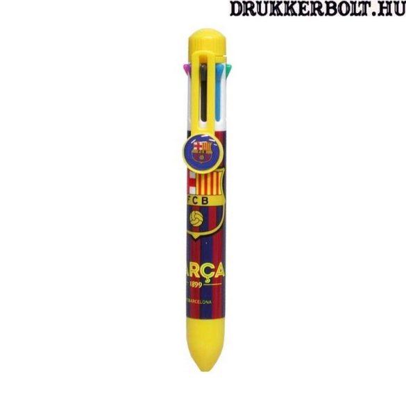 """FC Barcelona """"Szivárvány"""" toll - 8 színű golyóstoll - eredeti klubtermék!"""