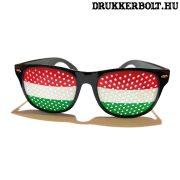 Magyar válogatott trikolor szemüveg - szurkolói napszemüveg