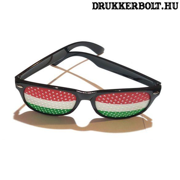 Magyar válogatott trikolor szemüveg - szurkolói termék