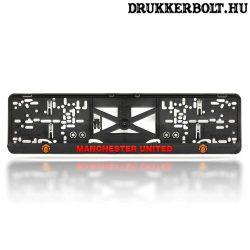 Manchester United rendszámtábla tartó (2 db) - hivatalos, logózott klubtermék