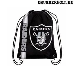 Oakland Raiders tornazsák / zsinórtáska - eredeti, hivatalos NFL klubtermék