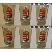 Magyarország felespohár szett - kupicás pohár Magyarország szurkolóknak (6 db)