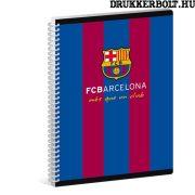 FC Barcelona spirálfüzet A/6 méretben (négyzethálós)