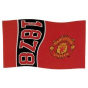 Manchester United óriás zászló - hivatalos Red Devils klubtermék