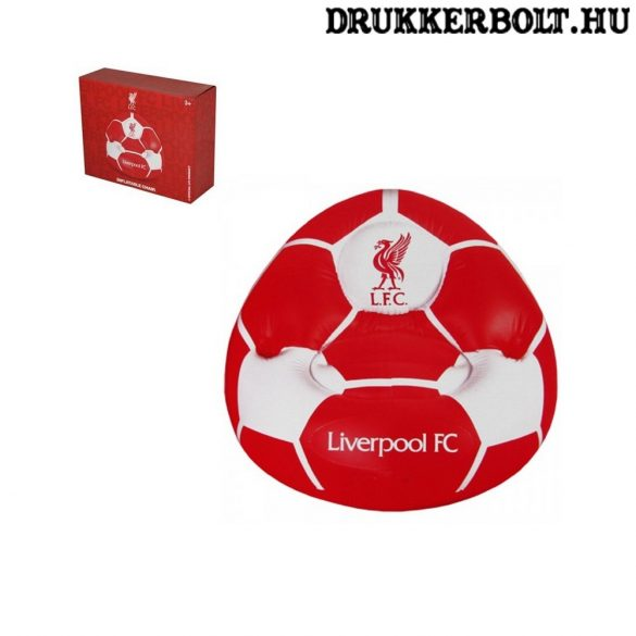 Liverpool FC felfújható fotel - hivatalos, liszenszelt termék
