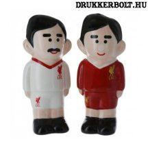 Liverpool FC sótartó és borstartó - focilsta alakú Liverpool sótartó