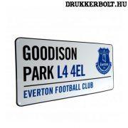 Everton FC utcanévtábla - eredeti, hivatalos klubtermék