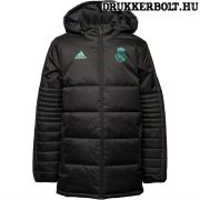 Adidas Real Madrid gyerek kabát - eredeti Real Madrid junior dzseki (fekete)