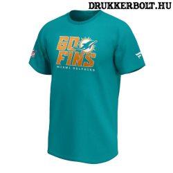 """Miami Dolphins póló (Fanatics) - Dolphins """"Go Fins"""" NFL póló"""