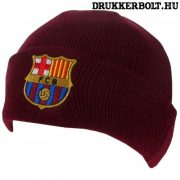 FC Barcelona kötött sapka - Barcelona szurkolói sapka (bordó)